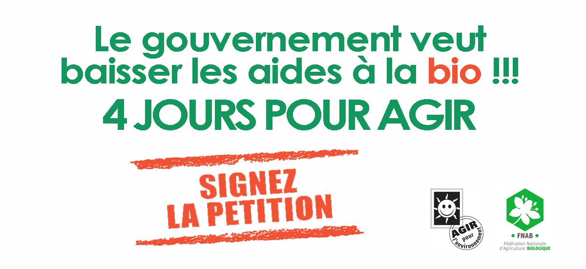 #AideàlaBio : Stop aux restrictions budgétaires !!!